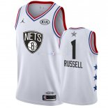 Maillot 2019 All Star NO.1 DAngelo Russell Blanc