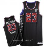 Maillot 2015 All Star No.23 Baron Davis Noir