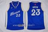 Maillot Enfants 2015 Noël Golden State Warriors No.23 Draymond Green Bleu
