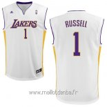 Maillot L.A.Lakers No.1 D'Angelo Russell Blanc