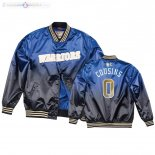Veste De Golden State Warriors NO.0 DeMarcus Cousins Bleu