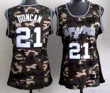 Maillot Femme 2013 Camouflage Fashion NO.21 Tim Duncan