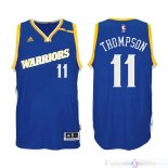 Maillot Golden State Warriors NO.11 Klay Thompson 2016-2017 Bleu