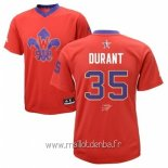 Maillot 2014 All Star No.35 Kevin Durant Rouge