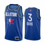 Maillot 2020 All Star NO.3 Anthony Davis Bleu