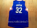 Maillot L.A.Clippers No.32 Blake Griffin Bleu