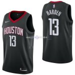 Maillot Houston Rockets Nike NO.13 James Harden Noir Statement