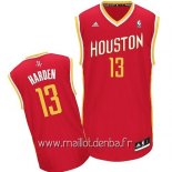 Maillot Houston Rockets No.13 James Harden Retro Rouge
