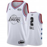 Maillot 2019 All Star NO.2 Lonzo Ball Blanc