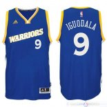 Maillot Golden State Warriors NO.9 Andre Iguodala 2016-2017 Bleu
