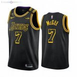 Maillot Los Angeles Lakers Nike NO.7 JaVale McGee Noir Mamba 2019-20