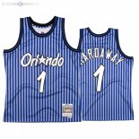 Maillot NBA Orlando Magic Independence Day NO.1 Penny Hardaway Bleu Hardwood Classics