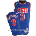 Maillot Brooklyn Nets No.3 Drazen Petrovic Bleu