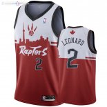 Maillot Toronto Raptors NO.2 Kawhi Leonard Rouge Hometown Collection