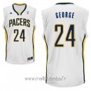 Maillot Indiana Pacers No.24 Paul George Blanc