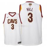 Maillot Enfants Cleveland Cavaliers Finales Champions 2018 NO.3 George Hill Blanc Association Patch