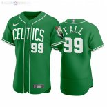 Maillot NBA Celtics x MLB Manche Courte NO.99 Tacko Fall Vert 2020