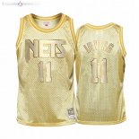 Maillot Enfants Brooklyn Nets NO.22 Caris Levert Or Hardwood Classics