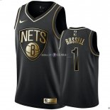 Maillot Brooklyn Nets NO.1 D'Angelo Russell Or Edition
