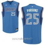 Maillot Dallas Mavericks No.25 Chandler Parsons Bleu