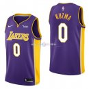Maillot Enfants L.A.Lakers No.0 Kyle Kuzma Pourpre 2017/2018