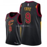 Maillot Cleveland Cavaliers Nike NO.9 Channing Frye Noir Statement 2018