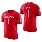 Maillot Houston Rockets Manche Courte NO.1 Trevor Ariza Rouge 2017/2018