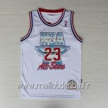 Maillot 1992 All Star No.23 Michael Jordan Blanc