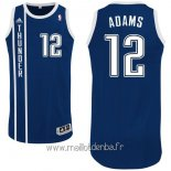 Maillot Oklahoma City Thunder No.12 Steven Adams Retro Bleu