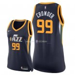 Maillot Femme Utah Jazz NO.99 Jae Crowder Marine Icon 2018