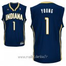 Maillot Indiana Pacers No.1 Lance Stephenson Noir