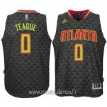 Maillot Atlanta Hawks No.0 Jeff Teague Noir