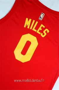 Maillot Indiana Pacers No.0 C.J. Miles Rouge