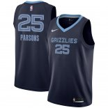 Maillot Memphis Grizzlies Nike NO.25 Chandler Parsons Marine Icon 2018/2019