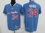 Maillot L.A.Clippers Manche Courte No.34 Paul Pierce Bleu
