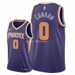 Maillot Phoenix Suns Nike NO.0 Isaiah Canaan Pourpre Icon 2018