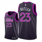 Maillot Minnesota Timberwolves Nike NO.23 Jimmy Butler Pourpre Ville 2018/19