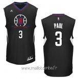 Maillot L.A.Clippers No.3 Chris Paul Noir
