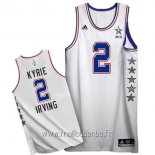 Maillot 2015 All Star No.2 Kyrie Irving Blanc