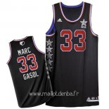 Maillot 2015 All Star No.33 Marc Gasol Noir