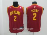 Maillot Enfants Cleveland Cavaliers No.2 Kyrie Irving Rouge