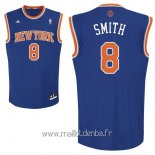 Maillot New York Knicks No.8 J.R.Smith Bleu