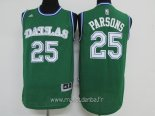 Maillot Dallas Mavericks No.25 Chandler Parsons Vert