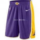Pantalon Los Angeles Lakers Nike Pourpre