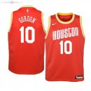 Maillot NBA Houston Rockets NO.10 Eric Gordon Naranja Hardwood Classics 2019-20