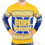 NBA Unisex Ugly Sweater Golden State Warriors Jaune