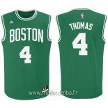 Maillot Boston Celtics No.4 Isaiah Thomas Vert