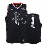 Maillot Enfants 2019 All Star NO.3 Chris Paul Noir