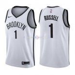 Maillot Boston Celtics Nike NO.1 D'Angelo Russell Blanc Association
