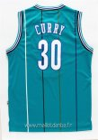 Maillot Charlotte Hornets No.30 Wardell Stephen Curry Vert